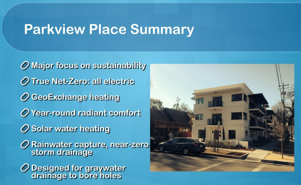 Parkview Place Construction Results