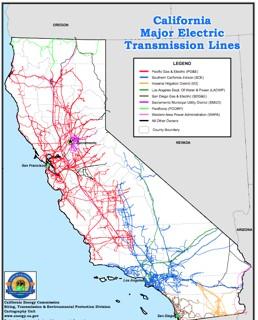 CA Grid Map